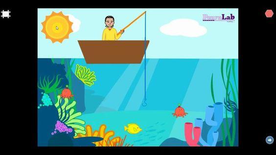 Scratch Jr – Joc de pescar
