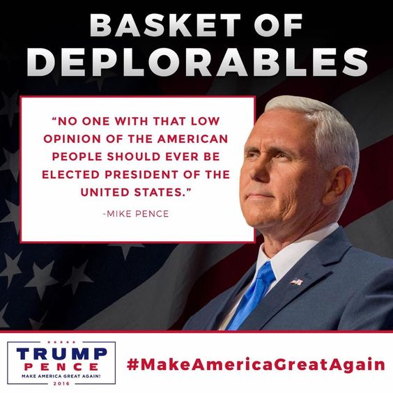 So true. And if being deplorable means electing a true American for President Then I am so deplorable!!!!
