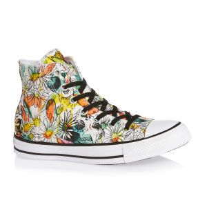 Converse Shoes - Converse Chuck Taylor All Star Daisy Print Shoes - Rebel Teal/ Aurora Yellow