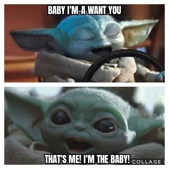 Oh Baby Babyyoda Yoda Funny Happy Comics Terrible Memes