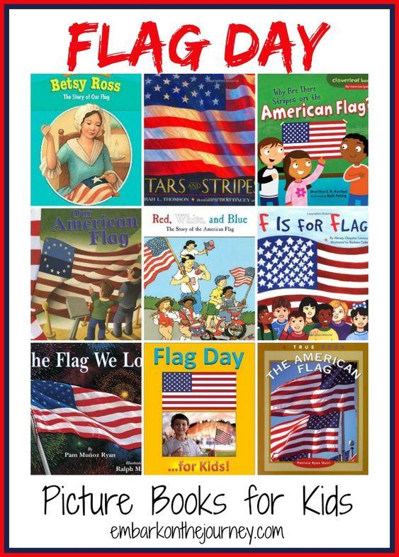 books flag day