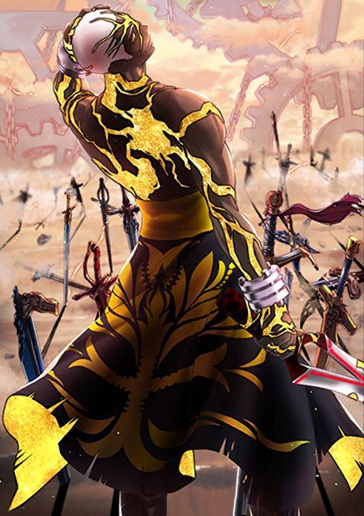 Archer Fate Grand Order Emiya Alter Fate Archer Fate Anime