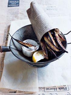 sumac eggplant chips with yoghurt | #melanzani #aubergine