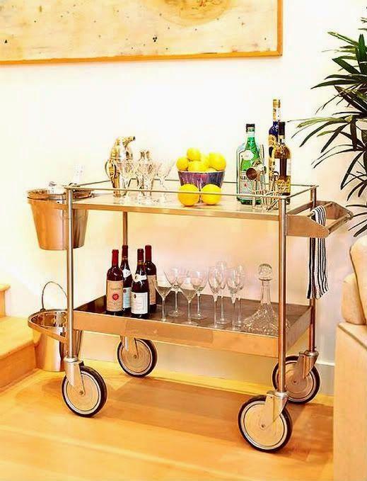 20 carrinhos de ch? para as bebidas carrinho bar barzinho decoracao ...