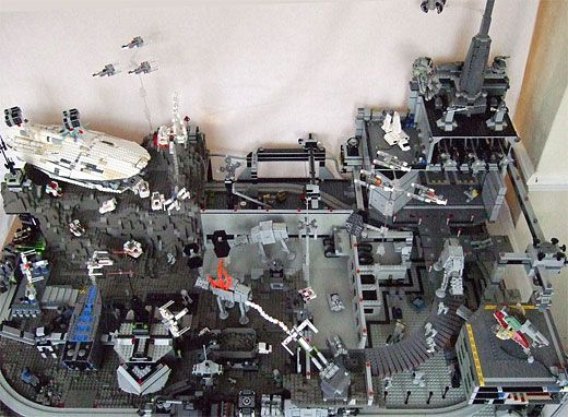 lego star wars diorama lego pinterest lego blog und krieg. Black Bedroom Furniture Sets. Home Design Ideas