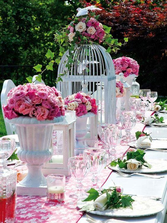 Celebra la boda en el jardín