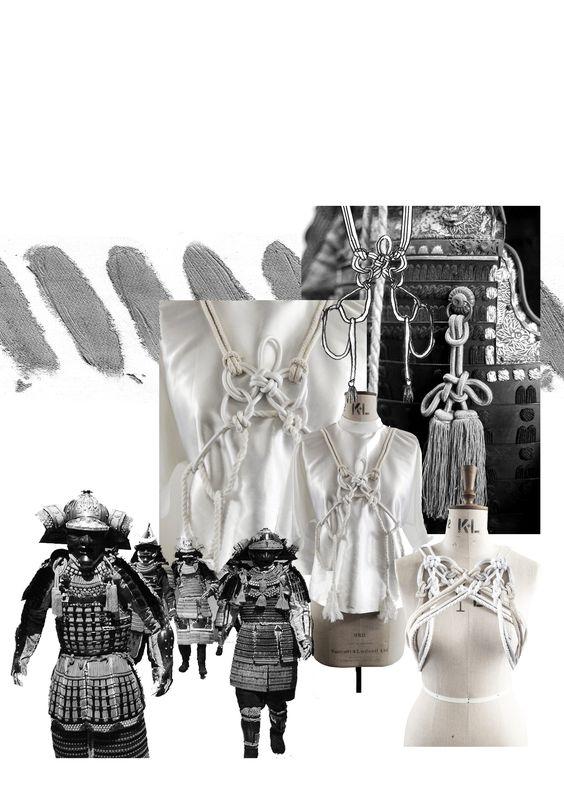 Fashion Portfolio - fashion design development; fashion sketchbook // Giryung Kim