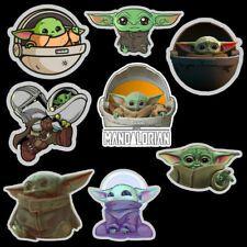 Star Wars les Mandaloriens Vinyle skateboard portable autocollants bébé Yoda l/'enfant