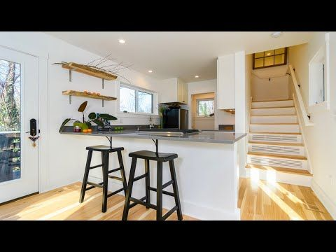 Incredibly Stunning Fulton 600 2 Story Includes Everything By Wishbone Tiny Homes Youtube Modern Tiny House Tiny House Living Accessory Dwelling Unit