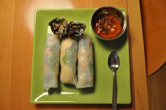 Vietnamese Spring Rolls with Korean Beef