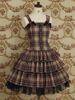 lolita dress. This is OH SOO ME! I miss my body. I am looking forward to it's recovery I miss clothes!