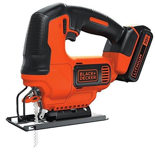 Black Decker Bdcjs20c 20v Max Jigsaw With Battery And Charger Best Deal Philly Table Saw Saw Tool Black Decker