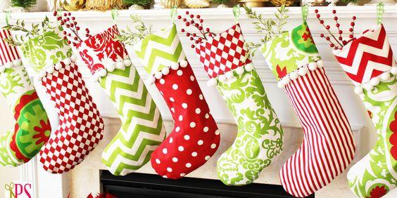 Stockings christmas stockings and stocking pattern on pinterest