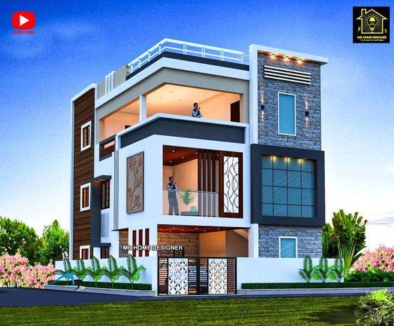 Luxury Villa Design Concepts Amazing Architecture Magazine Building Front Designs House Balcony Design Indian House Exterior Design