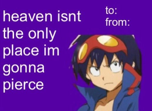 Anime valentine card  Anime Valentine Cards   Pinterest  Anime