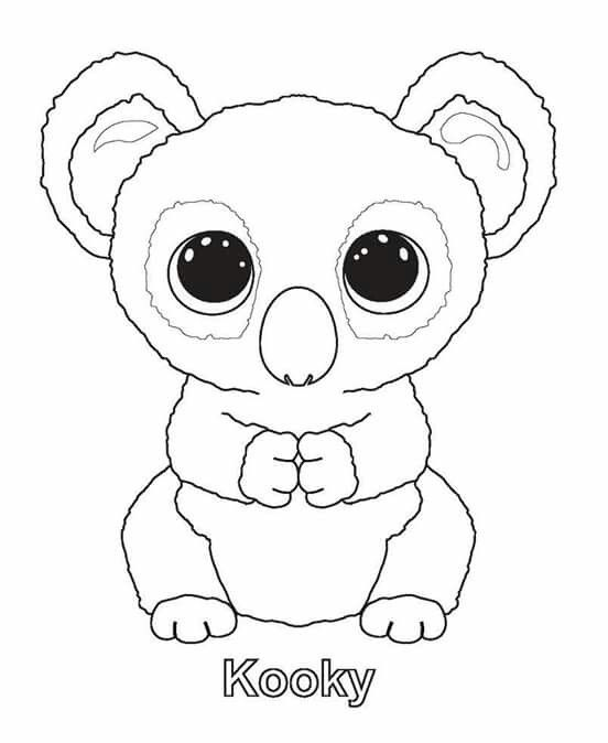 Panda Beanie Boo Pages Coloring Pages