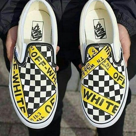 Vans Slip On Checkerboard Mau Sepatu Murah Dengan Berbagai