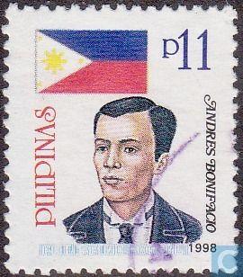 Philippines Stamp 1998 - Andres Bonifacio
