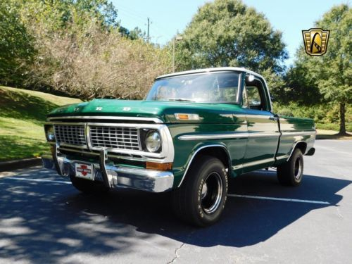 1970 Ford F 100 Pickup Truck Vintage Classic 1970s Trucks For Sale 1970 Chevy Ford Truck And More 1970str Classic Trucks Pickup Trucks Trucks For Sale