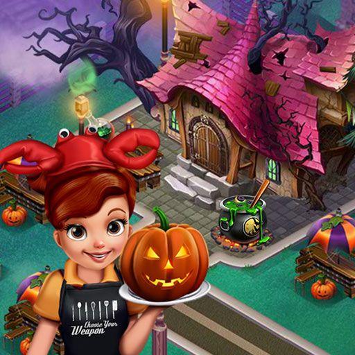 Jogar Cooking Fast Halloween Warrior Princess Jogos Halloween