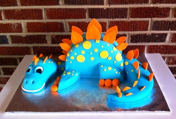 Cake Templates Dinosaur Cake And Cake Designs On Pinterest