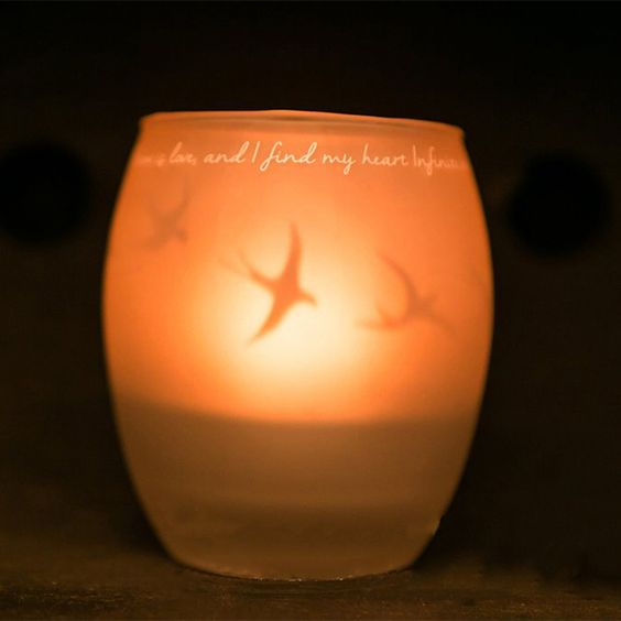Create your own ritual with the simple act of putting flame to wick. IamTra Candles reflect your own inner light, whether you use it to create a peaceful atmosphere in your home...to initiate your meditation practice...to set an intention...or simply to add beauty to your day. Enjoy the calming, centering effect of candlelight.