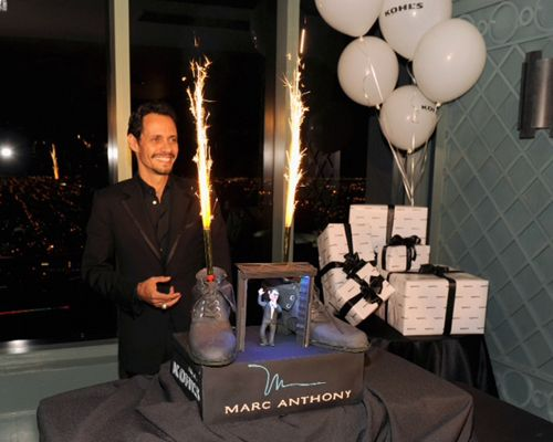 Marc Anthonys 43rd birthday bash in Miami is a family affair