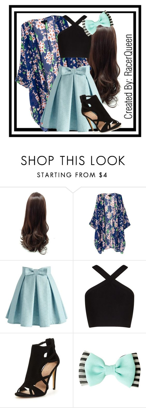 """Minty and Sweet"" by racerqueen ❤ liked on Polyvore featuring Chicwish and BCBGMAXAZRIA"