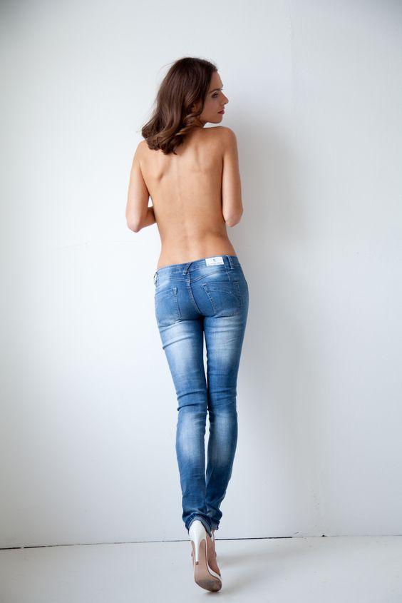 Hüftjeans von bestyledberlin. Skinny Jeans / Röhrenjeans. ♥