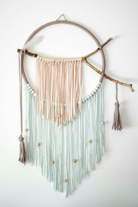25 trendy wall hanging yarn diy dream catchers