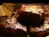 Kathy..Great recipe for Bob to try in the smoker....We used 2 inch boneless chops...incredible even as left overs
