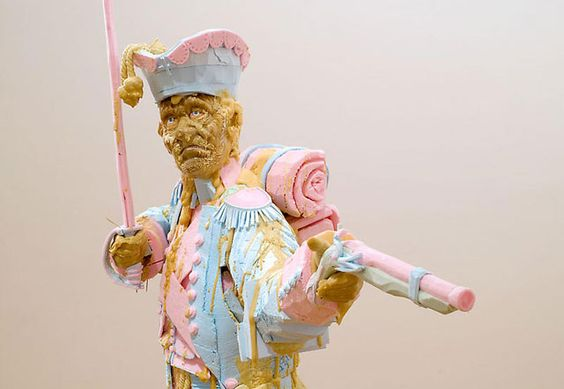 Contemporary Sculpture and Mixed Media - Folkert De Jong - The Shooting.. at Watou