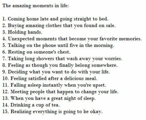 love this list