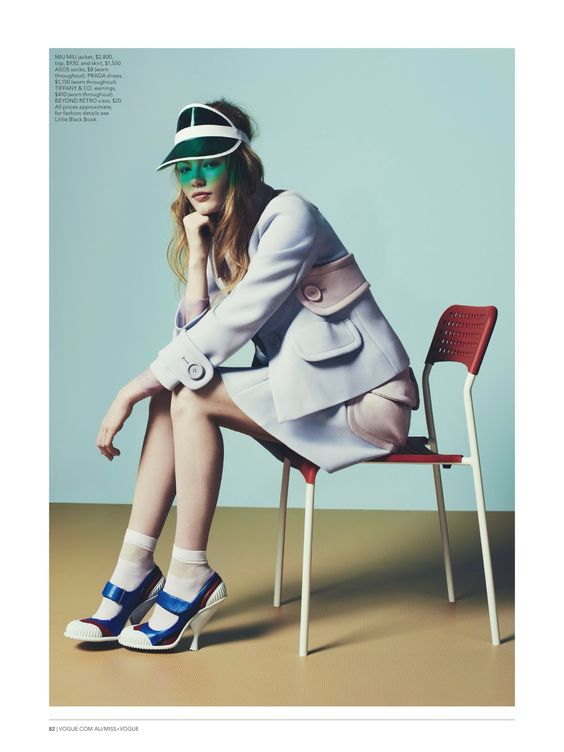 perfect fit: hollie may saker by nick dorey for miss vogue australia #2
