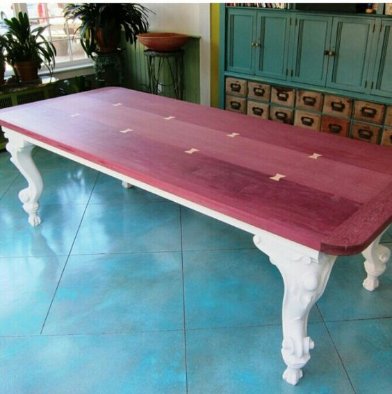 Pinterest the world s catalog of ideas for Purple coffee table