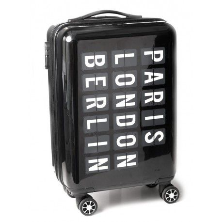 Maleta trolley cabina Aeropuerto con 4 ruedas