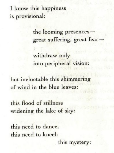 Denise levertov essay