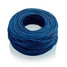 Cabo de Rede CAT5E Box 305M CCA 24AWG(0.2MM*7) Azul WI185 - Multilaser - R$ 209,14