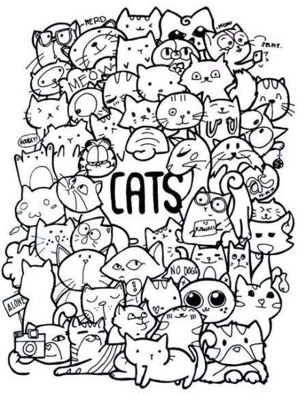 New Painting Ideas Animals Colour Ideas Cute Doodle Art Doodle Coloring Doodle Art