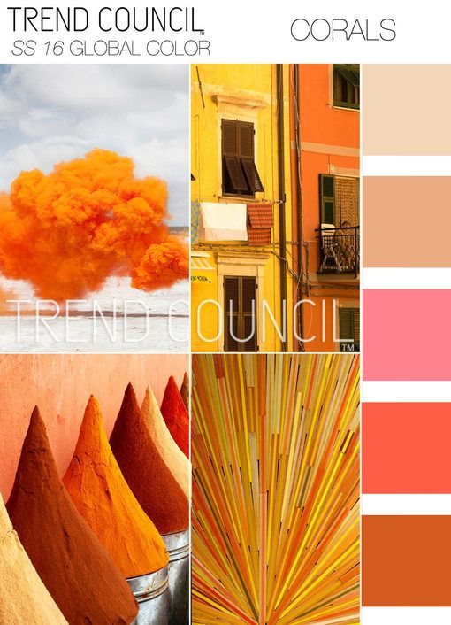 Today's peek at color trends for the Spring Summer 2017 season comes…