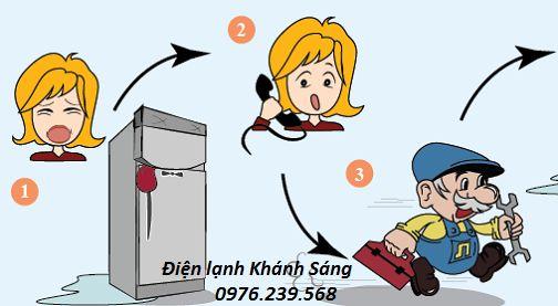 Sửa tủ lạnh tại Phạm Hùng