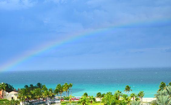 Miami, rainbow. www.luxurybyvera.com