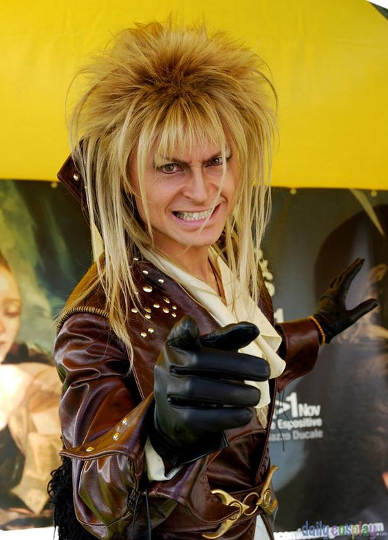 This guy is the best Jareth cosplay ever... I can't remember his name right now.