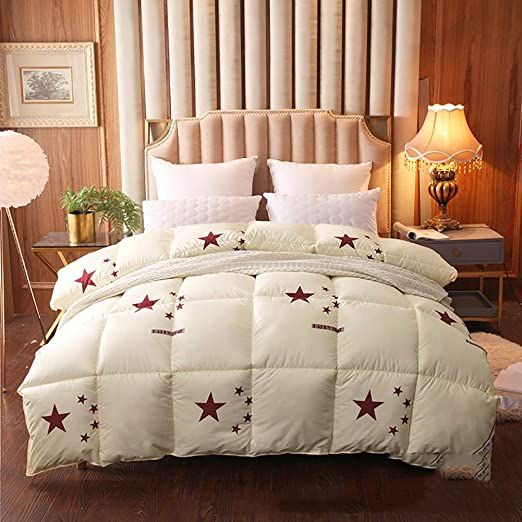 Zhangc Duvet Quilt Warm Cosy Quilt 100 Cotton Shell Anti Dust Mite Amp Feather Proof Fabric Anti Allergen Duck Feathe Dust Mites Quilted Duvet Bed Covers