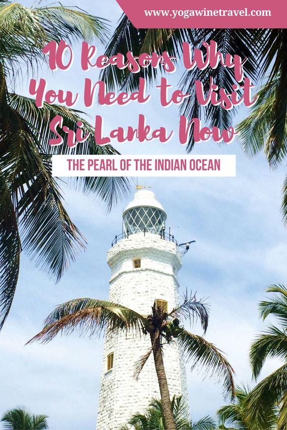 Yogawinetravel.com: 10 Reasons Why You Need to Visit Sri Lanka Now