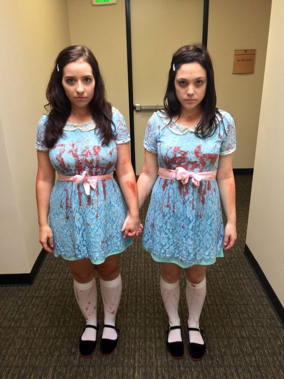 The shining Costumes and Twin costumes on Pinterest  sc 1 st  sittingdownfordinner.com & Best Design Of Twin Girl Halloween Costumes - Best Home Design Ideas ...