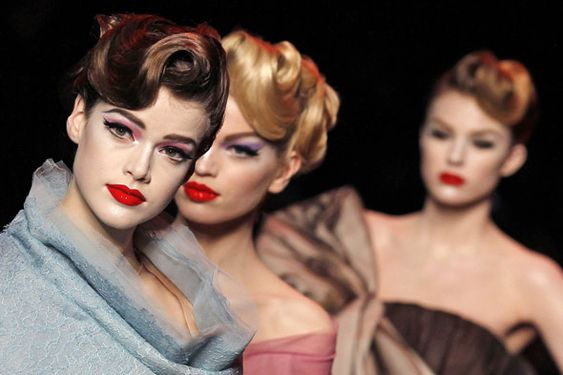 50's Barbie look done to perfection by Dior !