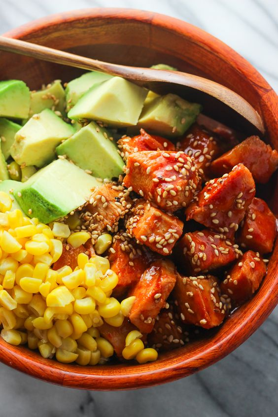 Sriracha Chicken and Avocado Bowl Picture: