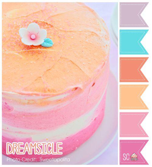 Dreamsicle Color Palette - Inspire Sweetness http://inspiresweetness.blogspot.com/