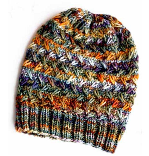 Knitting A Hat On A Round Loom : Muir woods beanie loomed … loom knitting pinterest